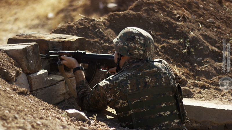 Դեկտեմբերի 12-ին ադրբեջանական կողմը վերսկսել է հարձակողական գործողությունները ԱՀ Հին Թաղլար և Խծաբերդ բնակավայրերի ուղղությամբ․ ՀՀ ՊՆ