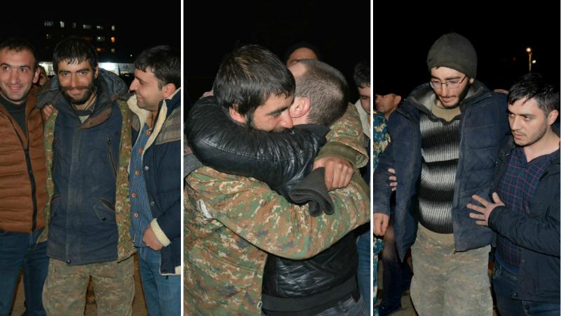 Ավելի քան 70 օր անհայտության մեջ գտնվող ժամկետային 6 զինծառայողներն առայժմ կմնան բժիշկների հսկողության տակ․ ԱՀ ԱԻՊԾ (լուսանկարներ)