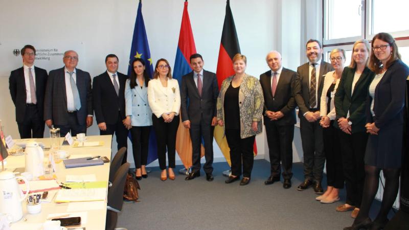 Բեռլինում կայացել է ֆինանսական և տեխնիկական համագործակցության հայ-գերմանական միջկառավարական համատեղ հանձնաժողովի հերթական նիստը