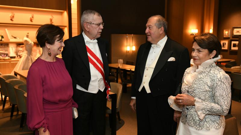 Ավստրիան վերստին արտահայտեց իր հստակ աջակցությունը հայ ժողովրդին. Արմեն Սարգսյանի ուղերձը՝ Ավստրիայի նախագահին