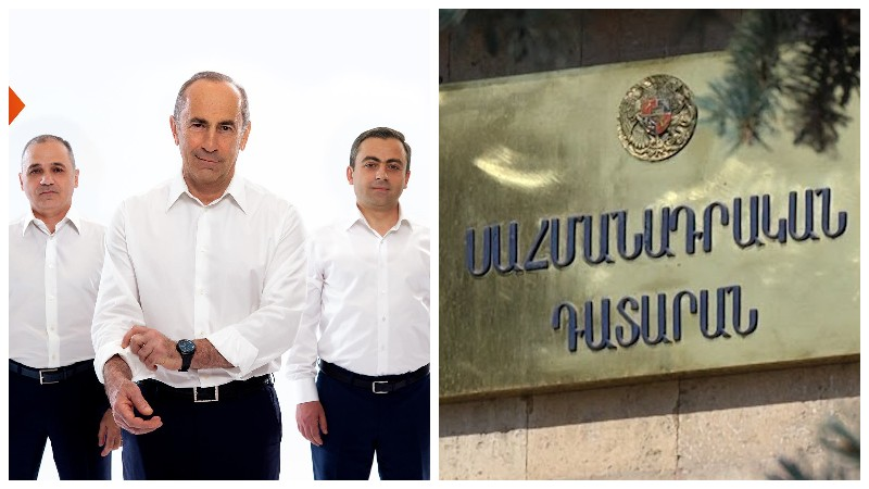 «Հայաստան» դաշինքը դիմելու է Սահնամադրական դատարան