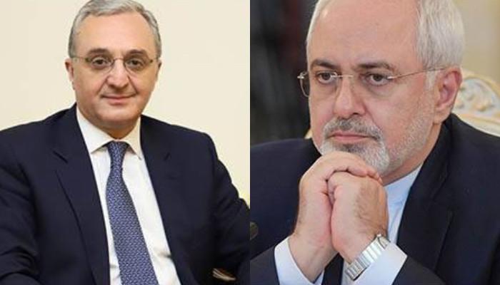 Իրանական կողմի նախաձեռնությամբ տեղի է ունեցել հեռախոսազրույց Հայաստանի և Իրանի ԱԳ նախարարների միջև