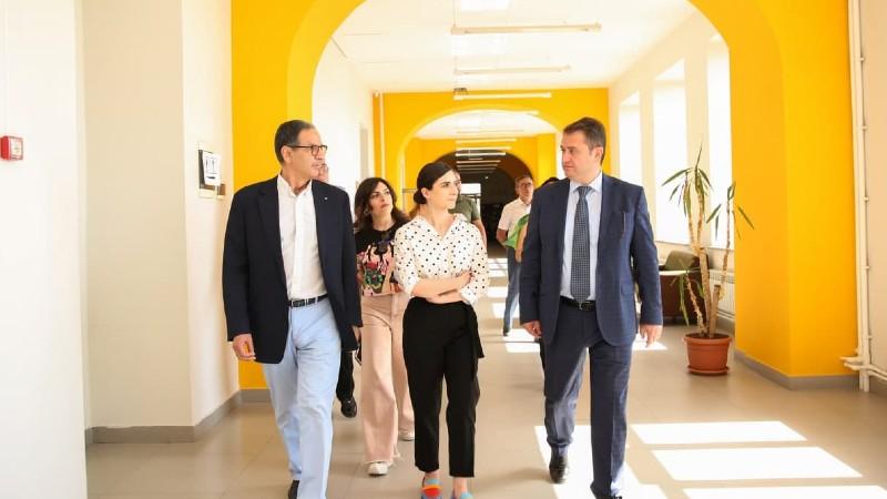 Հայկ Չոբանյանն այցելել է Գյումրու տեխնոլոգիական կենտրոն