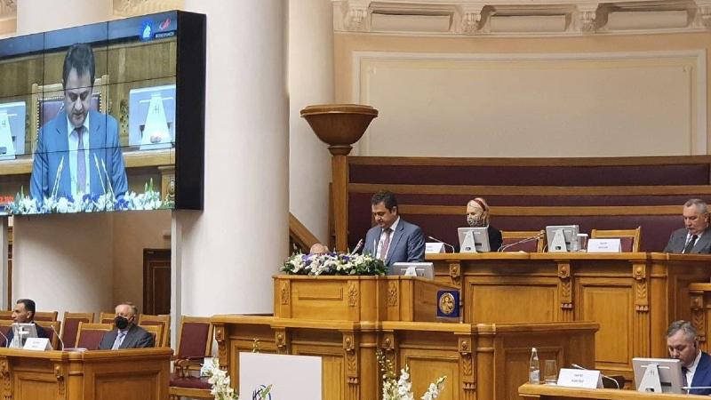 Հայաստանը մեծ հավակնություններ և ներուժ ունեցող երկիր է․ Հայկ Չոբանյանը՝ GLEX-2021 միջազգային համաժողովին