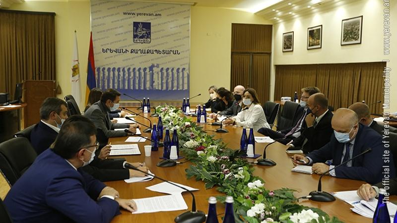 Երևան համայնքն ու ԵՄ կառույցներն ընդլայնում են համագործակցության շրջանակները. Հայկ Մարությանն ընդունել է ԵՄ պատվիրակությանը