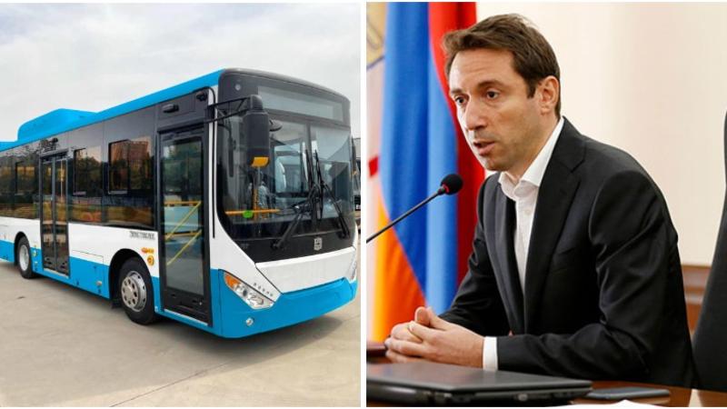 Նոր ավտոբուսները հագեցած կլինեն օդորակիչներով, LED լուսատախտակներով և հատուկ կահավորանքով. Հայկ Մարության