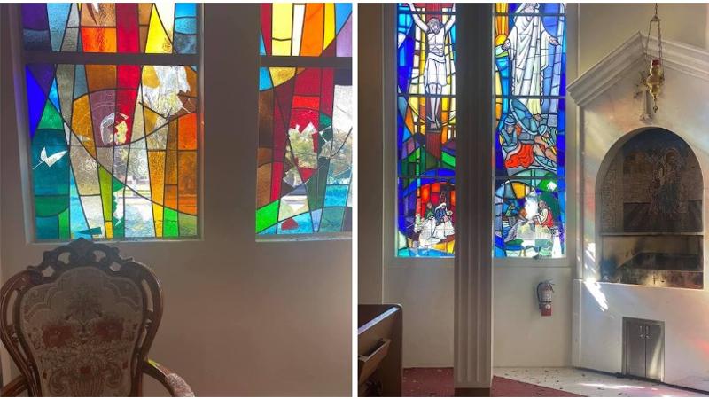 Կալիֆոռնիայի Վան Նայս քաղաքի հայկական եկեղեցին վանդալիզմի է ենթարկվել
