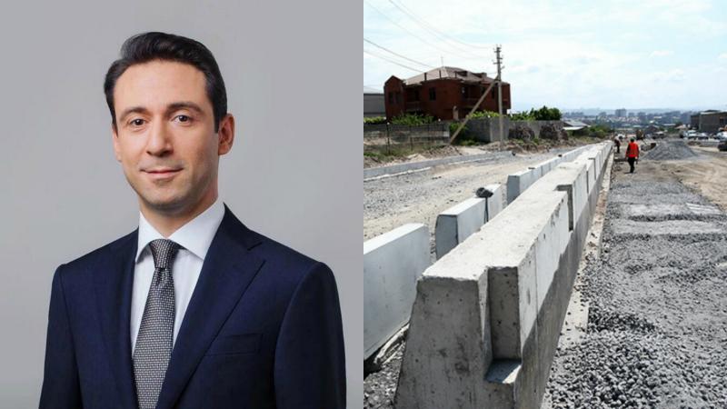 «Սա մեր կարևորագույն ծրագրերից է, որը պետք է բեռնաթափի քաղաքը»․ Հայկ Մարությանը Երևանում կառուցվող նոր ավտոճանապարհի մասին