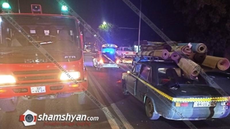 Վրաերթ Երևանում. 51-ամյա վարորդը 01-ով վրաերթի է ենթարկել հետիոտնին