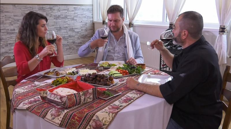 Հայաստանն ու հայկական խոհանոցը՝ նիդեռլանդական հեռուստաընկերության ուշադրության կենտրոնում