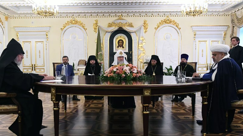 Մոսկվայում մեկնարկել են Հայաստանի և Ադրբեջանի հոգևոր առաջնորդների բանակցությունները