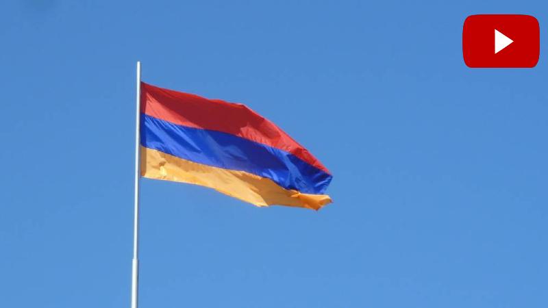 Շուռնուխում հանդիսավոր կերպով բարձրացվել է 30 մետրանոց հայկական դրոշը (տեսանյութ)