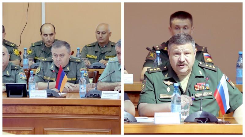 Ամփոփվել են ՀՀ և ՌԴ զինված ուժերի շտաբային բանակցությունները