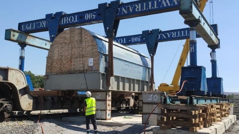 ՀԿԵ-ն ավարտել է Երևանի ՋԷԿ-ի կառուցման համար նախատեսված խոշոր ծավալաչափի բեռների փոխադրումները
