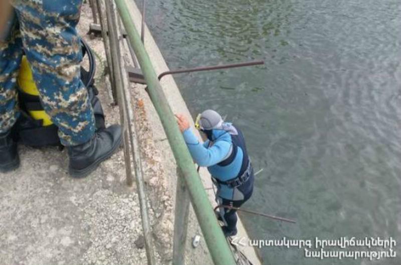 Փրկարարները ջրանցքից դուրս են բերել քաղաքացու դին