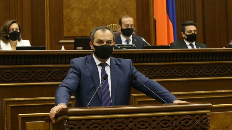 Գլխավոր դատախազն ԱԺ-ում ներկայացրեց Ծառուկյանին մեղադրանք առաջադրելու միջնորդությունը