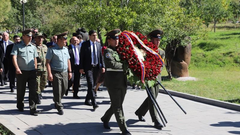 Նոր Նորքի Թ. Կրպեյանի անվան զբոսայգում կազմակերպվել է Արցախյան 44-օրյա պատերազմի զոհերի հիշատակին նվիրված հոգեհանգստի արարողություն