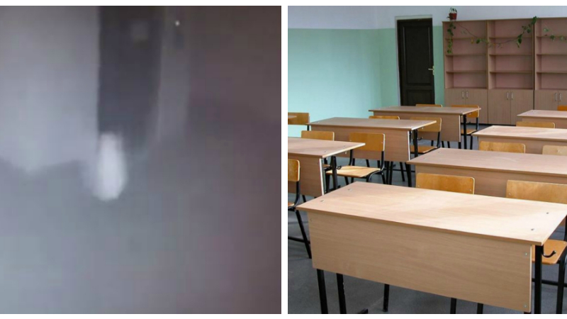 Էջմիածնի դպրոցներից մեկում մանկահասակ երեխա հիշեցնող, ճերմակ, աննյութ մի զանգված քայլում է միջանցքում (տեսանյութ)