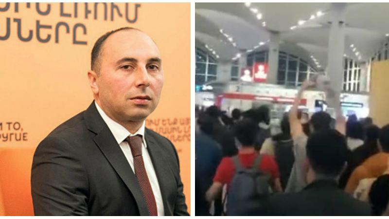 «Մենք բեռ չենք, մենք քո քաղաքացիներն ենք»․ ադրբեջանցի ուսանողները Ստամբուլի օդանավակայանում բողոքի ակցիա են իրականացնում․ Կարեն Հովհաննիսյան