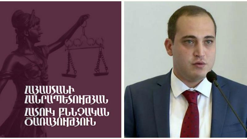 Սուտ մատնություն կատարելու համար Նարեկ Սամսոնյանին մեղադրանք է առաջադրվել․ գործը հանձնվել է դատախազին` դատարան ուղարկելու միջնորդությամբ․ ՀՔԾ