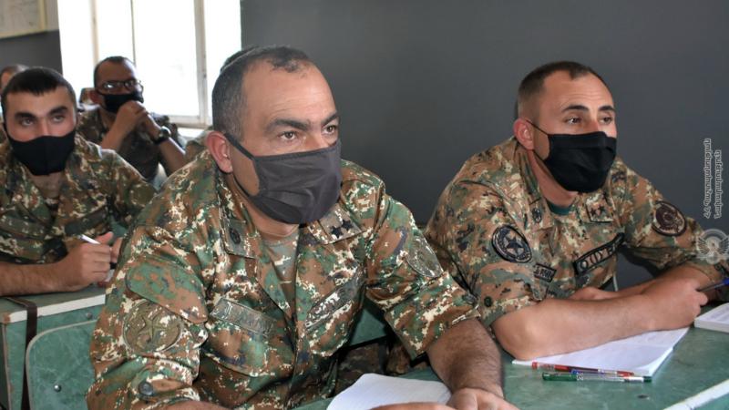 4-րդ զորամիավորումում մեկնարկել են հրամանատարական հավաքներ. ՀՀ ՊՆ