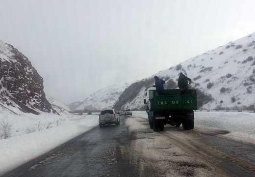Մարալիկի և Սևանի ավտոճանապարհներին ձյուն է տեղում