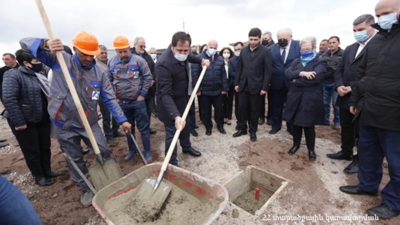 Մեկնարկել են ՀՀ-ում առաջին սանիտարական աղբավայրի շինարարական աշխատանքները
