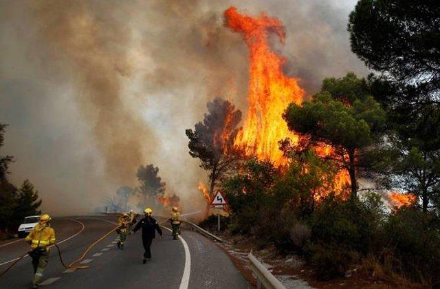 Իսպանիայում շուրջ 2500 մարդ է տարհանվել անտառային հրդեհների պատճառով
