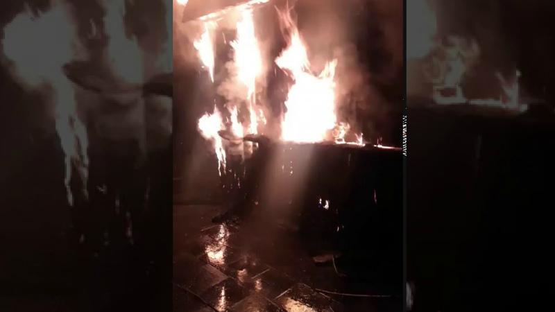 Երևանի Նորագավիթ 1-ին փողոցում հացատուն է այրվում