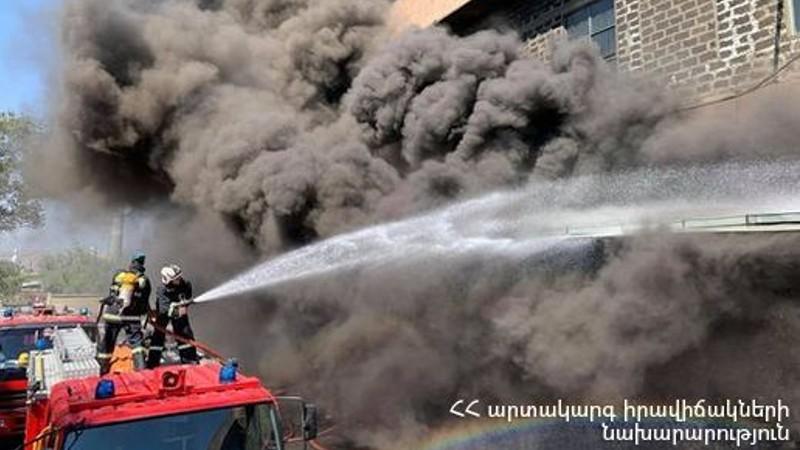 Գրիբոյեդովի փողոցում հրդեհ է բռնկվել (տեսանյութ)