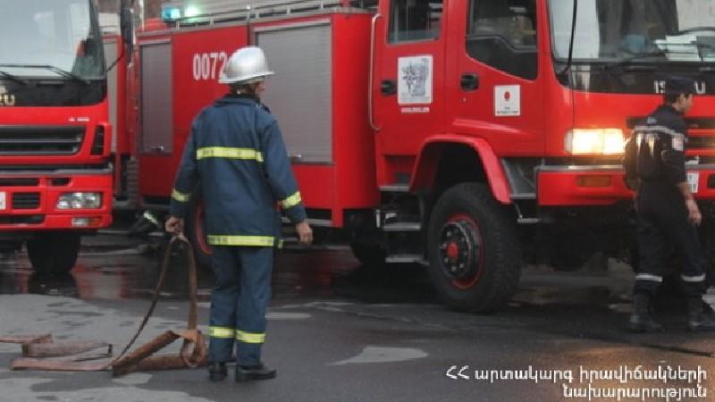 Սպիտակ քաղաքի Նորվեգական թաղամասում վագոն-տնակ է այրվել