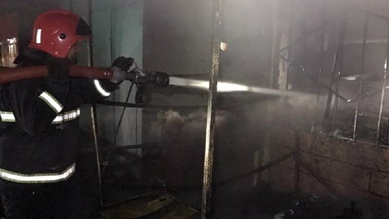 Գյումրիում սննդամթերքի խանութ է այրվել