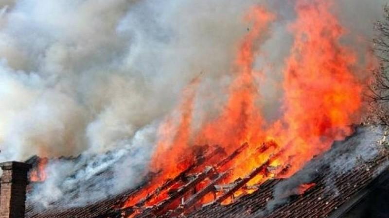 Հրդեհ Ղարիբջանյան գյուղում. այրվել է խորդանոցն ու կուտակված վառելափայտ