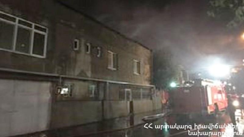Վերին Չարբախում բռնկված հրդեհը մարվել է. կատարվում են քանդման աշխատանքներ