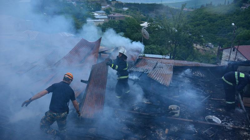 Ստեփանակերտում այրվել է 2 բնակարան․ ԱՀ ՆԳՆ ԱԻՊԾ