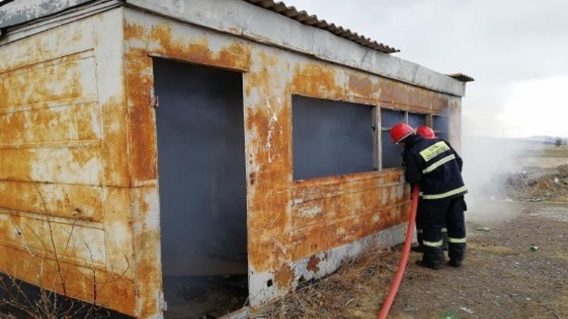 Մխչյան համայնքում վագոն-տնակ է այրվել