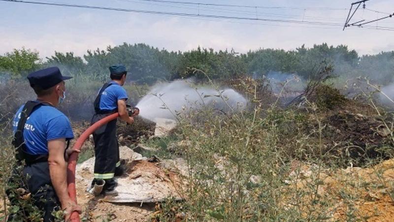 Քանաքեռավան գյուղի ամառանոցների մոտ հրդեհ է բռնկվել. հայտարարվել է հրդեհի բարդության «1-Բիս» կանչ