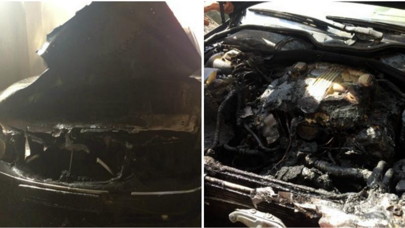 Հրդեհ Դալար գյուղում․ այրվել է ավտոտնակում կայանած «BMW 745» մակնիշի ավտոմեքենան