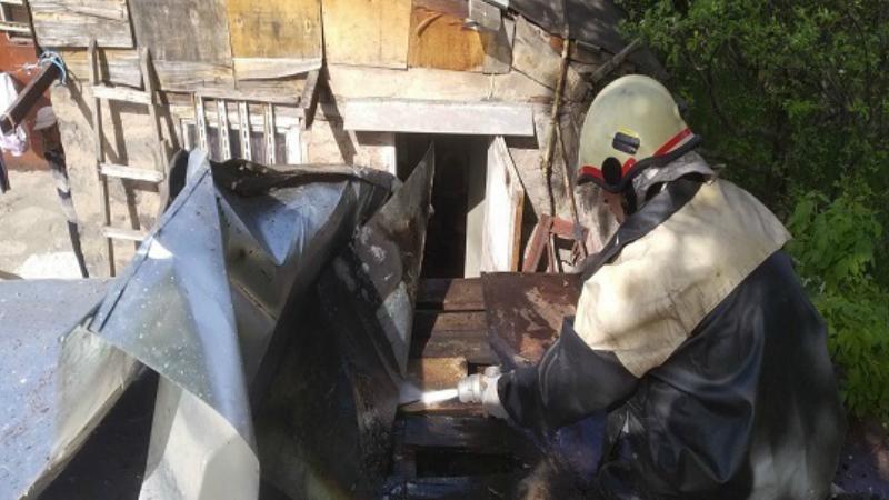 Գյումրիի տնակներից մեկում հրդեհ է բռնկվել․ այրվել են տանիքի փայտյա կառուցատարրերը