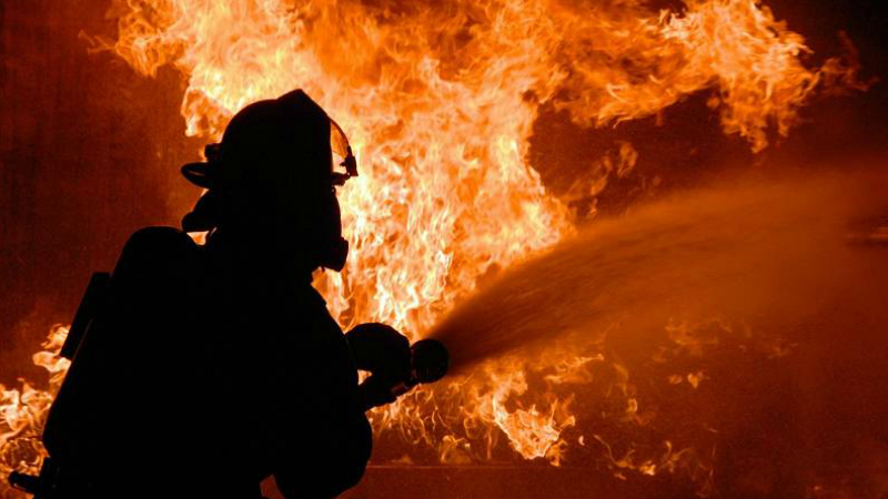 «Հարավկովկասյան երկաթուղու» «Կարմիր բլուր» կոչվող կայարանում այրվում է չբեռնված շոգեքարշ․ ահազանգ ԱԻՆ-ում