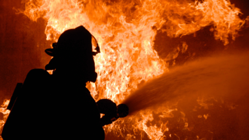 Հրդեհ  Մյասնիկյան գյուղում․ այրվել են տներից մեկի հարակից անասնագոմի և խորդանոցի տանիքները