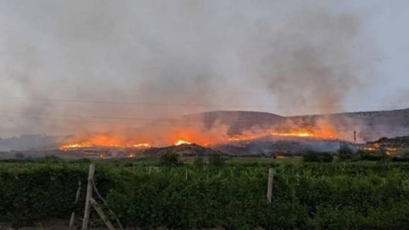 Հրշեջ-փրկարարները մարել են Արենի, Չիվա և Ռինդ գյուղերի միջնամասում բռնկված հրդեհը