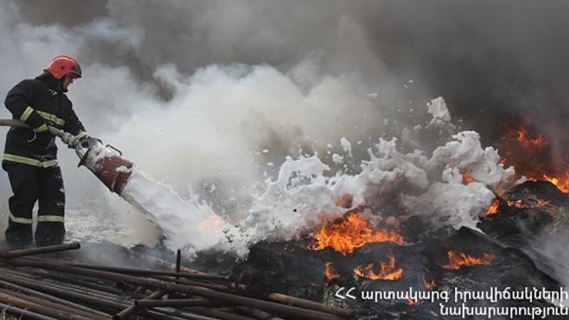Հրշեջ-փրկարարները մարել են ընդհանուր 22.3 հա տարածքում բռնկված հրդեհները