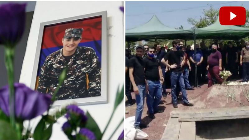 Հակառակորդի կրակոցից զոհված 19-ամյա Արթուր Մուրադյանի հուղարկավորությունը՝ «Եռաբլուրում». Ուղիղ միացում