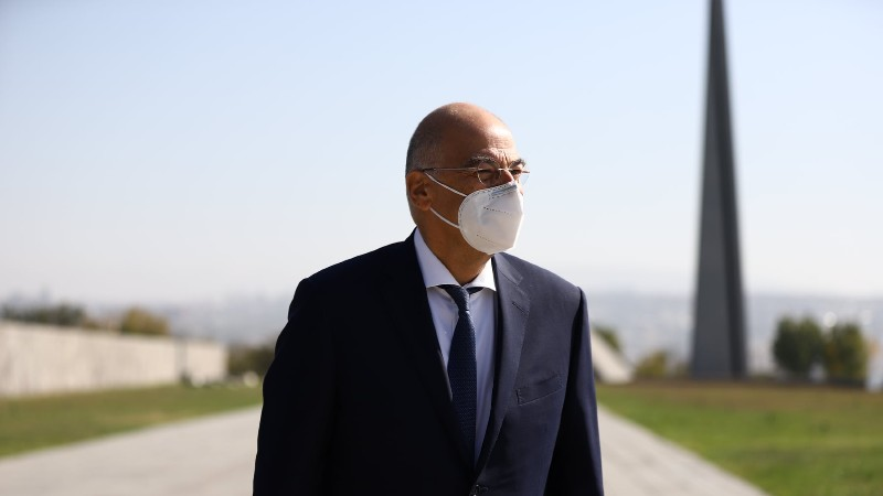 Մեկնարկել է Հունաստանի ԱԳ նախարար Նիկոս Դենդիասի աշխատանքային այցը Հայաստան. (լուսանկարներ)
