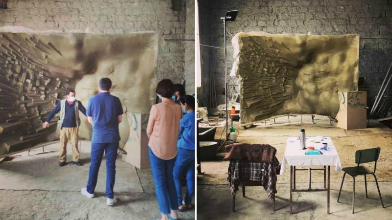 «Իմ Քայլ»-ի ավագանու անդամներն այցելել են «Մարտի 1-ի զոհերի հիշատակին նվիրված» հուշարձանի հեղինակի արվեստանոց (ֆոտո)