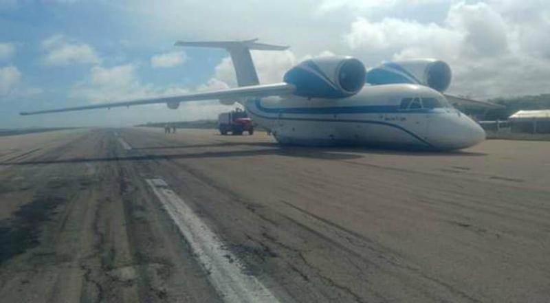 Հայկական ինքնաթիռը վթարային վայրէջք է կատարել Սոմալիում