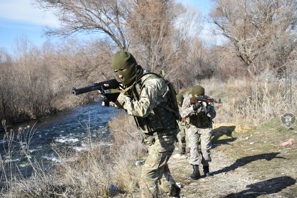 ՀՀ ԶՈւ հատուկ նշանակության ուժերը վարժանք են իրականացրել (լուսանկարներ)