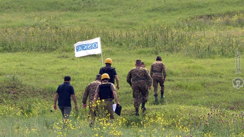 ԵԱՀԿ-ն հրադադարի ռեժիմի պլանային դիտարկում է անցկացնելու շփման գծում
