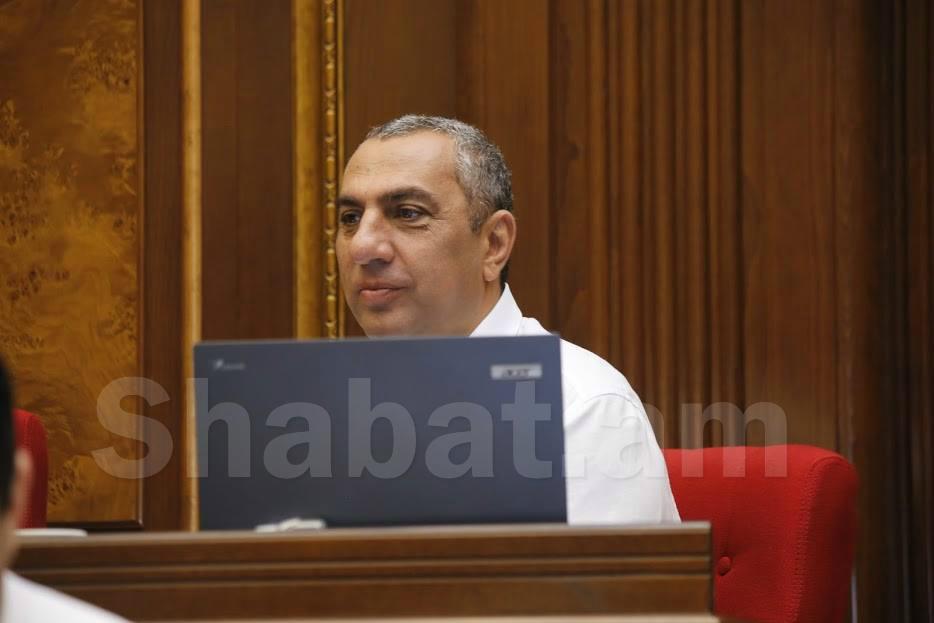 Սամվել Ալեքսանյանը լքում է ՀՀԿ խմբակցությունը
